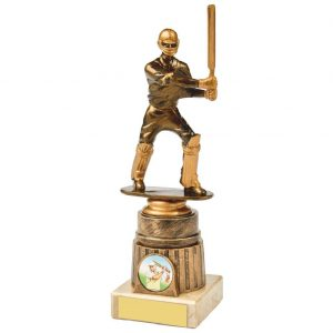 Budget Cricket Batter Trophy 21.5cms