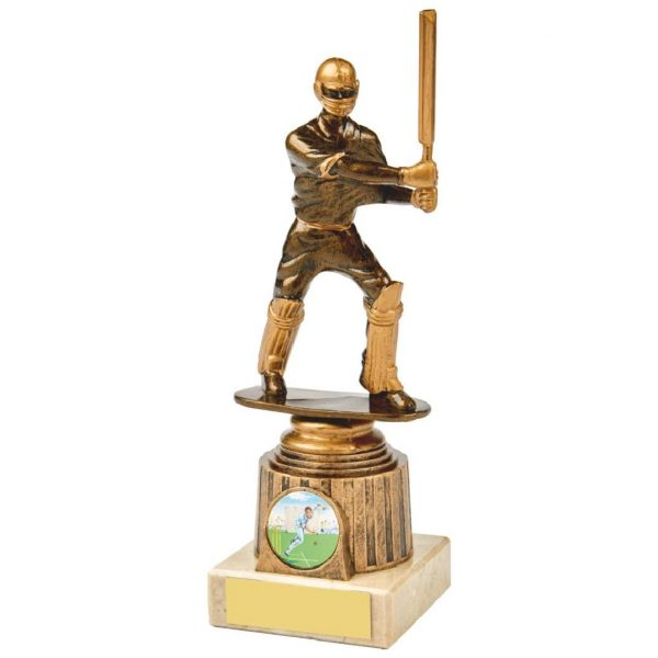 Budget Cricket Batter Trophy 20cms