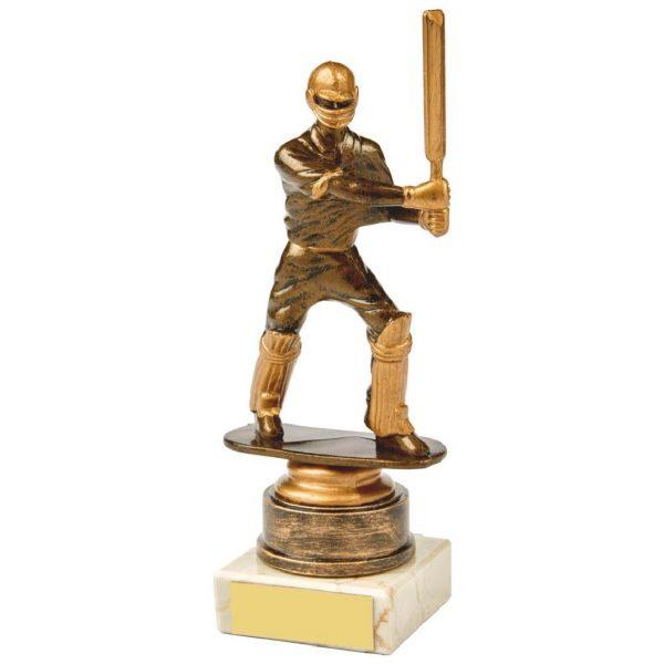 Budget Cricket Batter Trophy 18cms