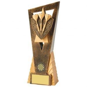 Tri Dart Scene Trophy 23cms