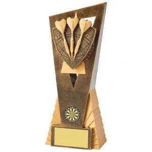 Tri Darts Scene Trophy 21cms