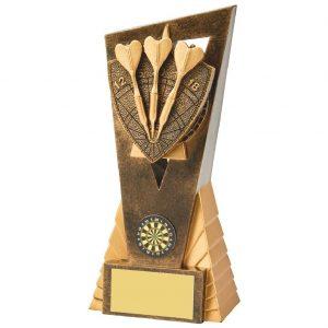 Tri Darts Scene Trophy 18cms
