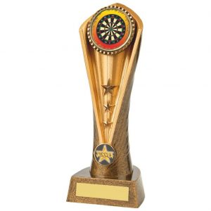 Trophy for Darts 23cms Tall