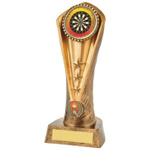 Trophy for Darts 21cms Tall