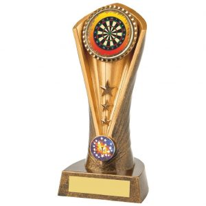 Trophy for Darts 19cms Tall