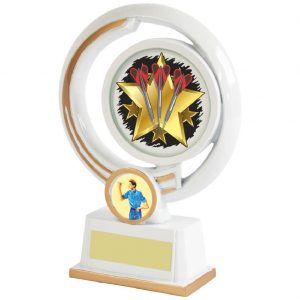 Darts Most Wins Trophy 16cms