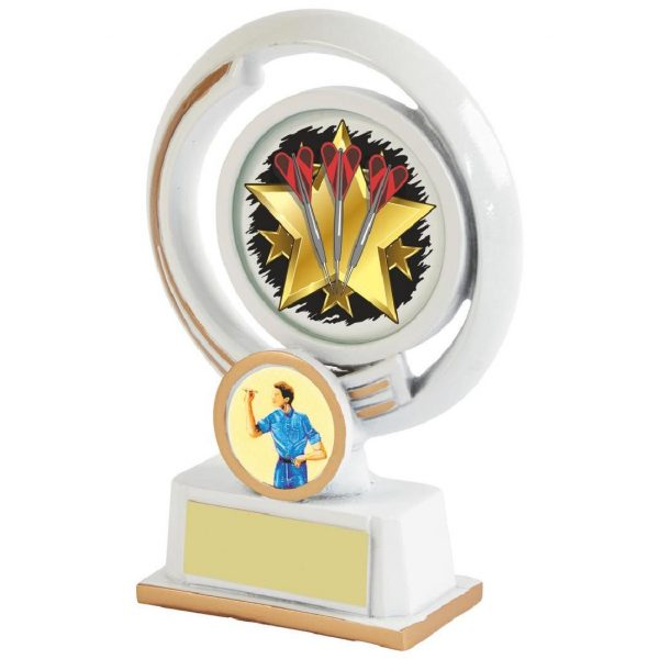 Darts Most Wins Trophy 13cms