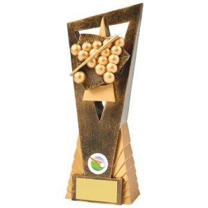snooker Scene Trophy 23cms