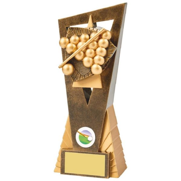 Snooker Trophy 21cms