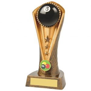 Eight Ball Pool Trophy 19cms