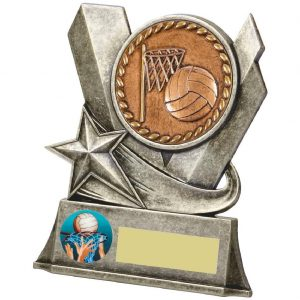 Quality Netball Team Trophy 11.5cms