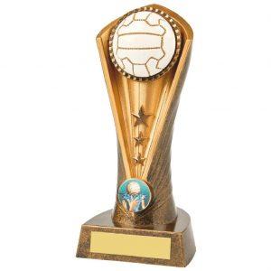 Netball Column Trophy 19cms