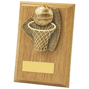 The perfect plaque to present to any deserving netball player. Ideal for MVP, top Goal Scorer and end of season presentations