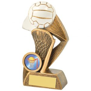 Resin Netball Trophy 13cms