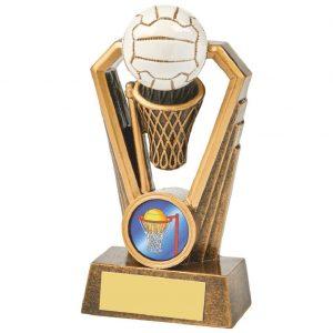 Resin Netball Trophy 12.5cms