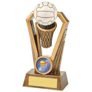 Resin Netball Trophy 14.5cms