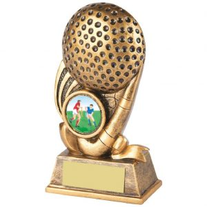 Budget Hockey Trophy 13cms
