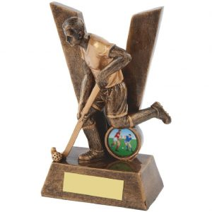 Male Victory Resin Hockey Trophy 16cms