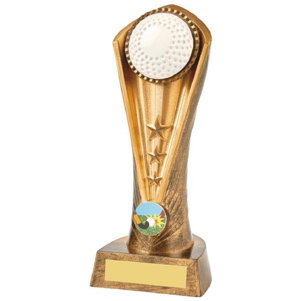 Hockey Column Trophy 21cms