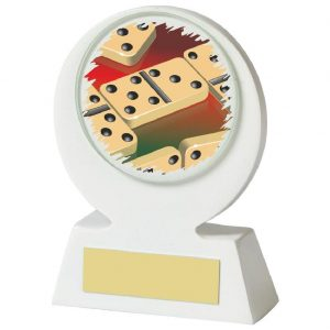 Low Priced Dominoes Trophy 11cms