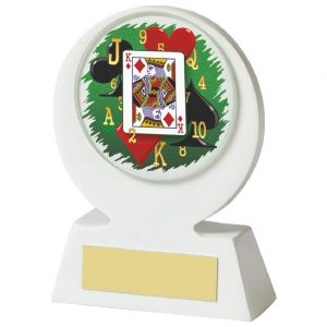 Low Priced Cards Trophy 11cms tall