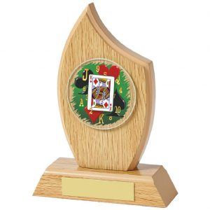 Cards Trophy 16.5cms