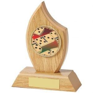 Buy today Dominoes Trophy 14cms