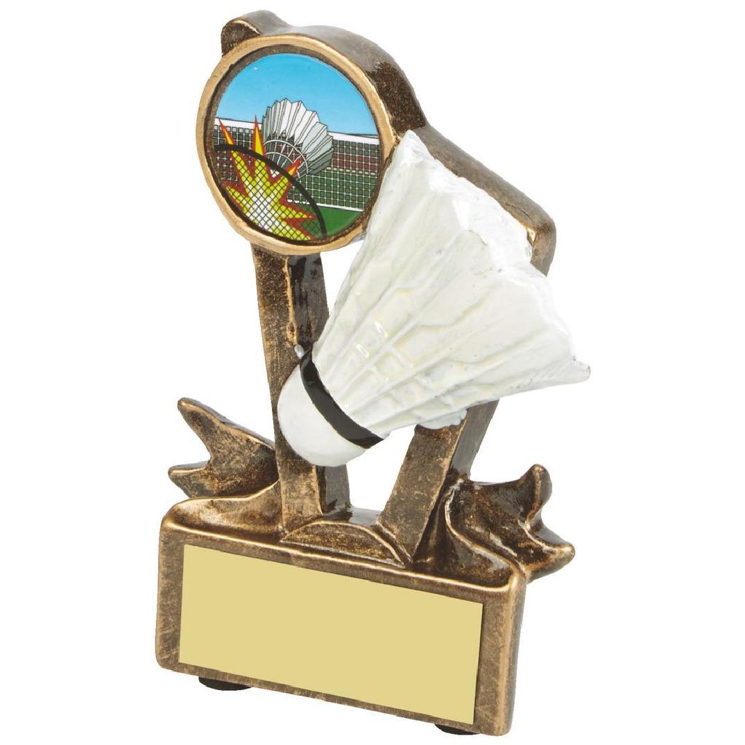 Low Price Badminton Trophy 9cms