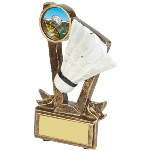 Low Price Badminton Trophy 11cms