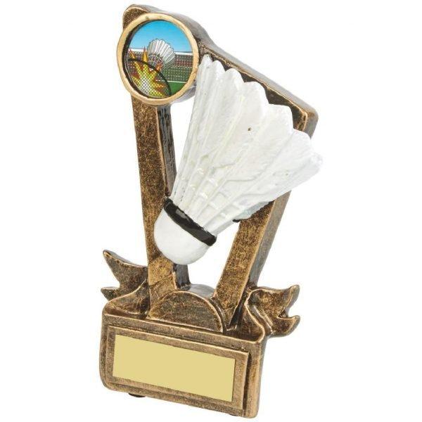 Low Price Badminton Trophy 13cms