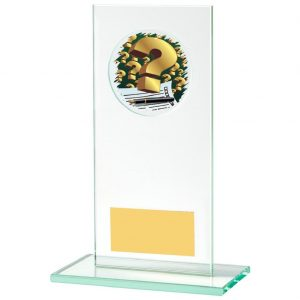 Jade Glass Quiz Trophy