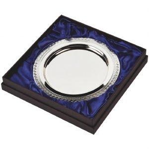 Silver Plated Presentation Salver 20cms