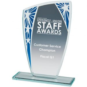 Budget Priced Presentation Glass Trophies
