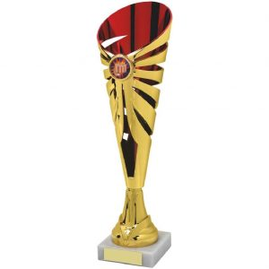 Karate Fluted Trophy Cup