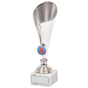 Boxing Fluted Trophy Cup