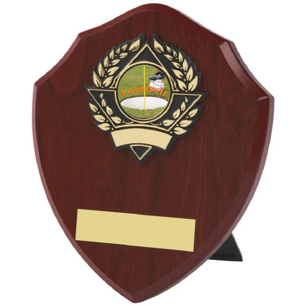 Traditional Footgolf Shield 15.5cms