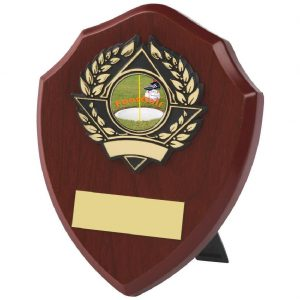 Traditional Footgolf Shield 13cms
