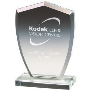 Development Glass Trophy 12cms