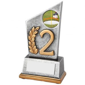 Footgolf Second Position Trophy