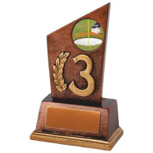 Footgolf Third Position Trophy