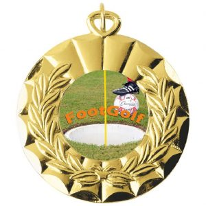 Footgolf 50mm Medal