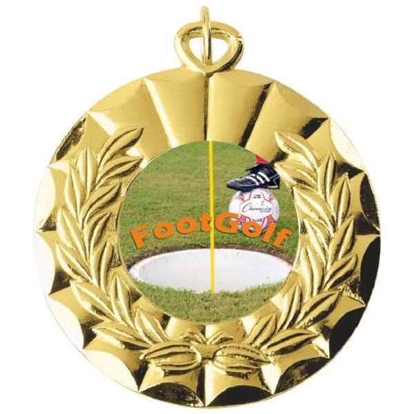 Footgolf 50mm Medal