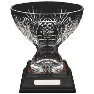 Crystal Presentation Bowl 31cms