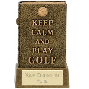 Keep Calm Golf Book