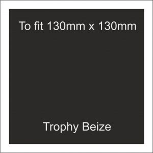 Trophy Beize Self-Adhesive Backed 130mm x 130mm