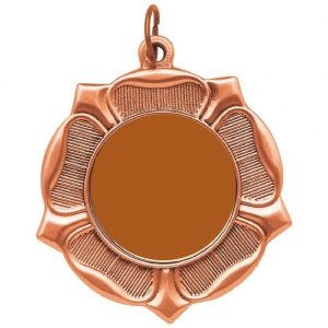 Standard 50mm BLANK Medal Copper. Above all, this is an ideal medal for all personalised activity centres.