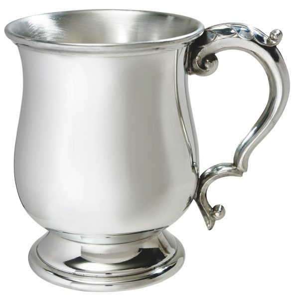 Standard Georgian Pewter. A personalised pewter tankard would make the perfect recognition or achievement awardTankard