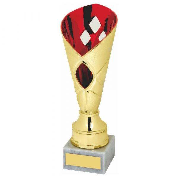 Budget Trophy Red Gilt