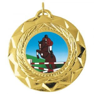 Buy today standard Quality Horse Medal 50mm. Above all, this is an ideal medal for all winners, runners up and competitors.