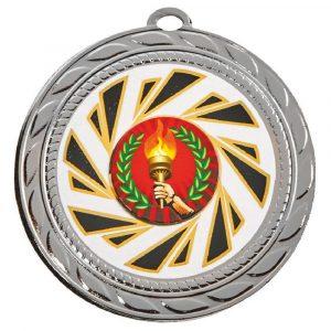 Large Curling Medal 70mm